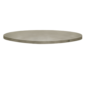 Trueform Round Concrete Table Tops is perfect for the dining, living, or conference room as well as a kitchen table. Wharton, New Jersey. Concrete shown in the color Taupe