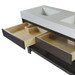 "Trueform Concrete 60"" Lavare Vanity With  Concrete Ramp Sink & Drawer, vanities, bathroom, powder room"