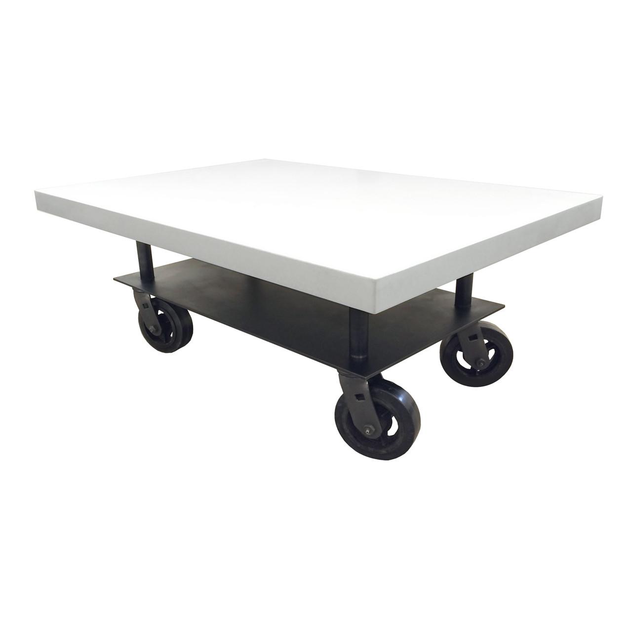 - Concrete Rolling Table - Trueform