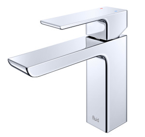 Trueform Concrete - Fluid Quad Single Lavatory Faucet