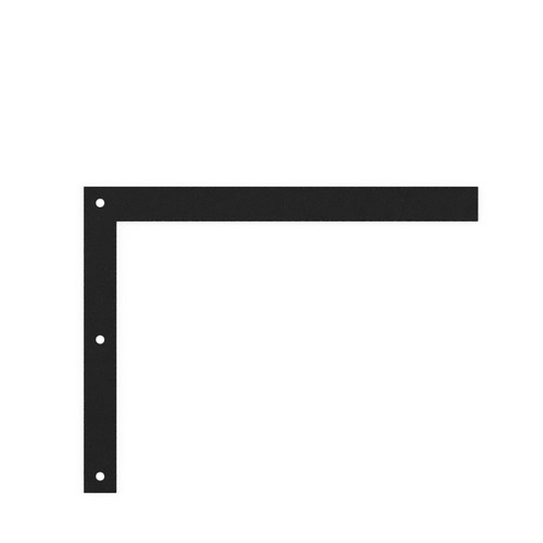 Trueform Floating Sink Mounting Bracket Small - This bracket is designed for wall mounted or hanging Trueform concrete sinks.