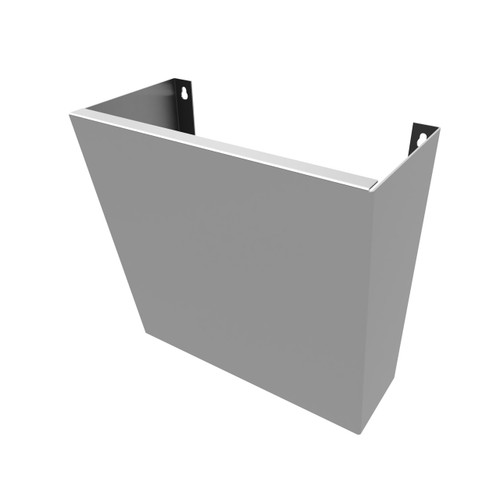 "Sink Shroud 18"" for wall hung sinks."
