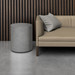 """The Avory Concrete Side Table, shown here in the color """"Graphite"""""""