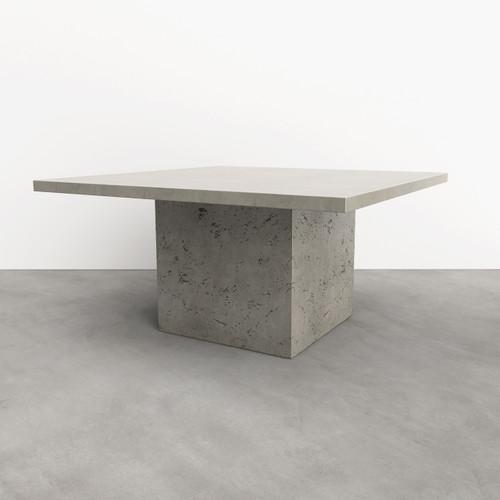 "Casa Concrete Dining Table, shown in the color ""concrete"""