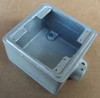 "O-Z Gedney FD-2-75 3/4"" Cast Outlet Box ""FD"" Style 2 Gang - New"
