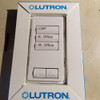 Lot of 2 Lutron QSWS2B-3BI-WH-NST White Grafik Eye QS 3 Button Wall Station Keypad Engraved - New