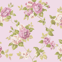 Ashford House Blooms Garden Rose Trail Wallpaper #AK7493