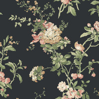 Ashford House Blooms Flower Vine Wallpaper #AK7500