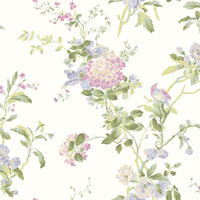 Ashford House Blooms Flower Vine Wallpaper #AK7502