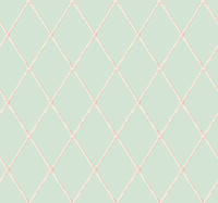 Ashford House Blooms Bamboo Harlequin Wallpaper #AK7529
