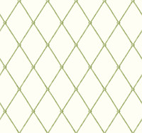 Ashford House Blooms Bamboo Harlequin Wallpaper #AK7530