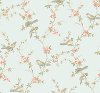 Callaway Cottage Floral Branches W/Bi Wallpaper CT0867 by York