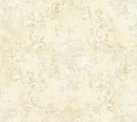 Brandywine Damask Scroll Wallpaper GL4618 by Yrok