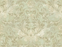 Brandywine Aida Damask Wallpaper GL4628 by Yrok