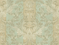 Brandywine Aida Damask Stripe Wallpaper GL4725 by Yrok