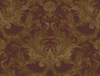 Brandywine Aida Damask Stripe Wallpaper GL4727 by Yrok