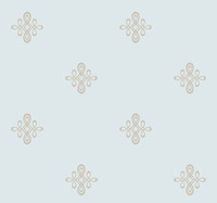 Candice Olson Dimensional Surfaces Glass Beads and Sand Medallion Wallpaper CX1219 by York