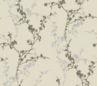 Botanical Fantasy Delicate Floral Branch Wallpaper WB5444 by York