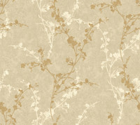 Botanical Fantasy Delicate Floral Branch Wallpaper WB5446 by York