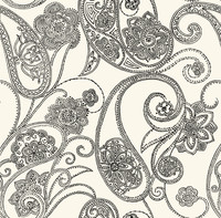 Candice Olson Shimmering Details Dotted Paisley Wallpaper CO2027DE by York