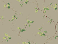 Casabella II Leaves Sidewall Wallpaper