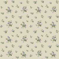 Casabella II Mini Rose Toss Wallpaper