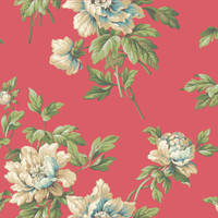 Casabella II Document Floral Wallpaper BA4613 by York