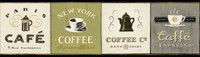 American Classics Coffee Signs Border AM8641B  by York