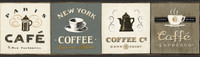 American Classics Coffee Signs Border AM8642B  by York