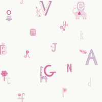 PEEK-A-BOO ALPHABET AND ANIMAL WALLPAPER