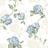 Arbor Rose Blue Floral Trail