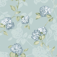 Arbor Rose Grey Floral Trail