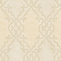 Bernaud Cream Persian Diamond Wallpaper