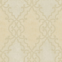 Bernaud Beige Persian Diamond Wallpaper