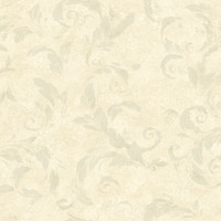 Edith Beige Acanthus Brushstroke Wallpaper