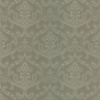 Anastaise Moss Ogee Damask