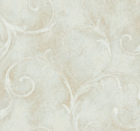Aged Elegance Athena Scroll Wallpaper  CC9598 by York