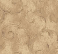 Aged Elegance Athena Scroll Wallpaper  LG3429 by York