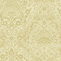 Beige Ethnic Damask