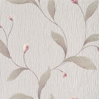 Dahlia Taupe Modern Floral
