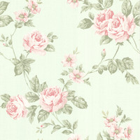 Bloom Mint Floral Trail