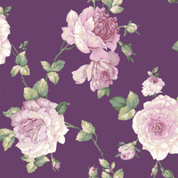 Arlington Floral Scrolling Wallpaper EL3989 by York