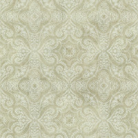 Christiana Sage Damask Medallion
