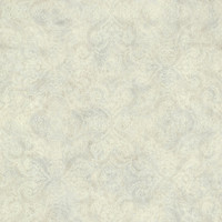 Christiana Grey Damask Medallion