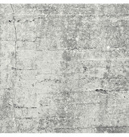Absolute Concrete Light Grey Graphic Wall Mural