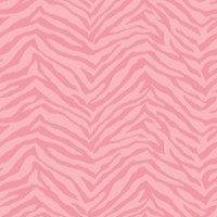 Alice Pink Faux Zebra Stripes Wallpaper