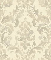 Baton Rouge Iridescent Framed Damask Wallpaper NV6068 by York