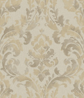 Baton Rouge Iridescent Framed Damask Wallpaper NV6069 by York