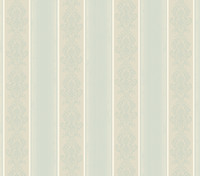 Arabelle Blue Damask Stripe Wallpaper