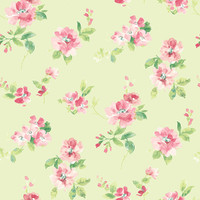 Captiva Mint Floral Toss